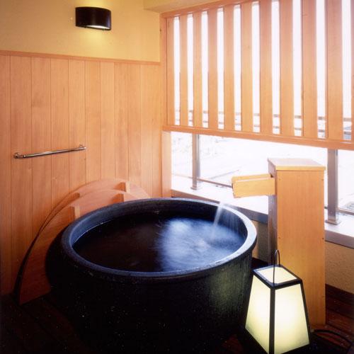 ◆大切な人と泊まりたい…露天風呂付客室【風美亭】露天風呂で源泉を一人占めできる最高の贅沢